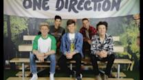 One Direction get a style make-over at Madame Tussauds