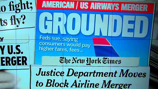 Merger grounded: Inside DOJ's decision to block the American Airlines, U.S. Airways deal