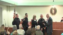 Officers honored for rescuing woman