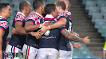 Pearce scores on Roosters return