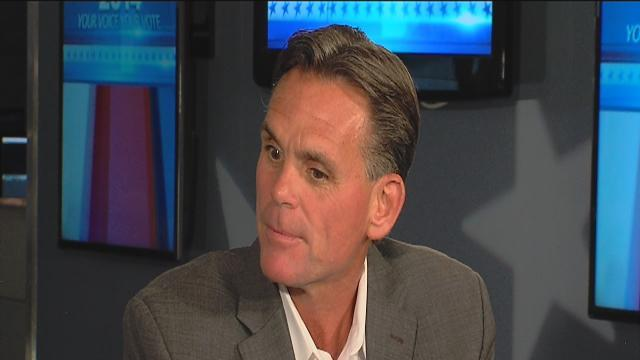 Mark Hackel on election night webcast