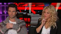 Shakira Talks Joining 'The Voice,' Adam Levine Discusses Cee Lo And Christina's Departure