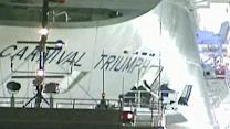 Raw: Carnival Triumph Docking at Ala. Port