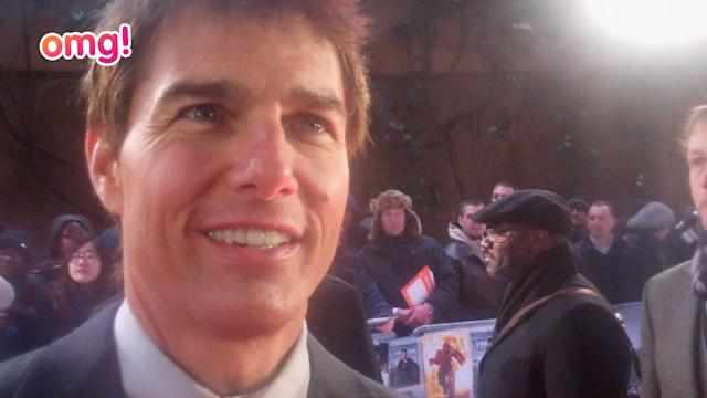 Tom Cruise talks space ships, towers and motorbikes