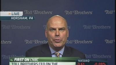 Toll Bros CEO: Housing is long way from bubble