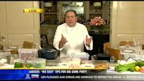 Famed Chef Emeril Lagasse serves up Super Bowl menu