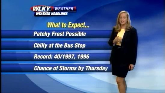 Sunday Night Forecast for May 12th