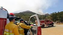 Wildfire on Mount Diablo 45 percent contained
