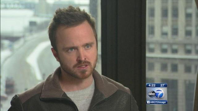 Aaron Paul talks 'Need for Speed'