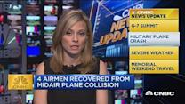 CNBC update: Military plane crash