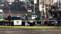 Several detained after Oakland shooting, standoff