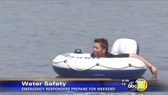 Water rescuers gear up for busy weekend