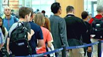 TSA Lines Kick-Off Memorial Day Weekend in Decent Shape