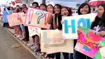 Farrington students join in protest