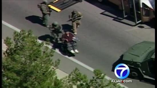 Residents react to bomb scare near CNM