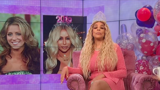 Wendy Williams Shades Aubrey O Day For Plastic Surgery Dissing Diddy