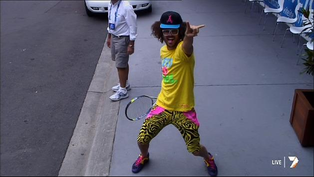 Redfoo's dance moves