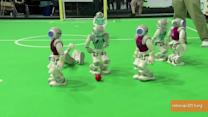 Robots Play Soccer, Rescue Baby Dolls at RoboCup 2013‏