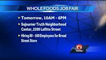 Whole Foods, Winn-Dixie looking for workers, offer job fair Friday