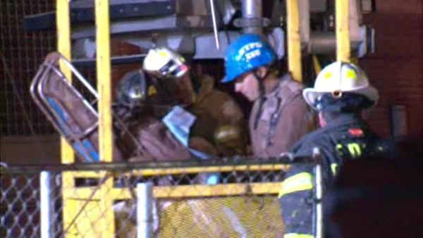 Worker rescued from subway trench expected to recover