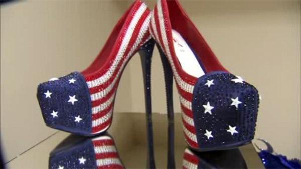 Miss America state shoes unveiled for NJ parade