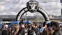 Raiderville filled with fans and former players