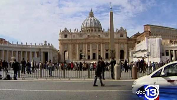 Rome buzzing ahead of conclave