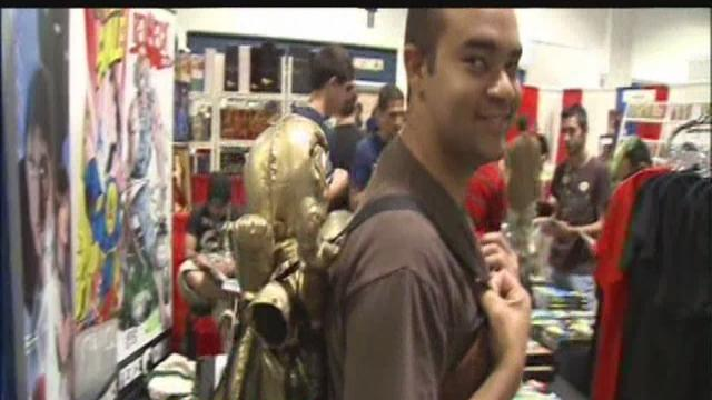 This weekend: Tampa Bay comic convention