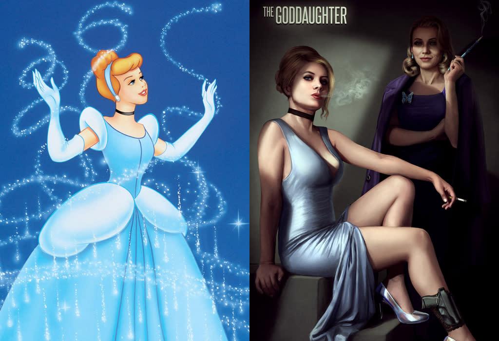 Cinderella, from