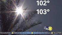 Excessive heat may cause travel delays