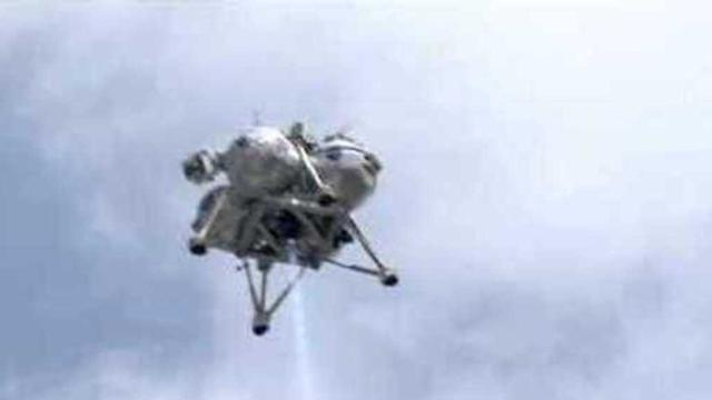 Prototype Planetary Lander Makes Successful Free-Flight Test