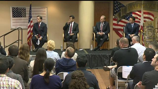 Mayoral Candidates Focus On Public Safety At Debate