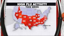 Number of States with High Flu Activity Triples