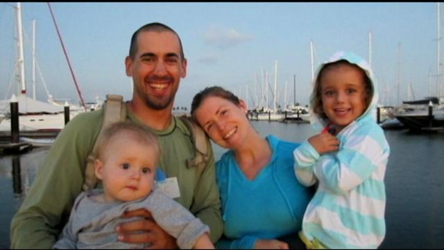 Navy Rescues Family From Sinking Sailboat