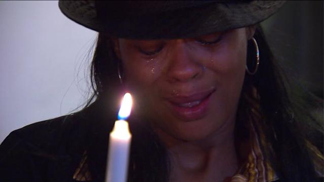 Families remember children in candlight village