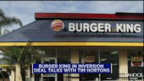 Burger King,Tim Hortons in merger talks; InterMune jumps on deal; Apple eye another record