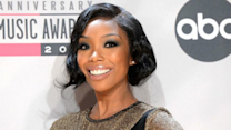 Brandy's Performs For Empty Stadium In South Africa