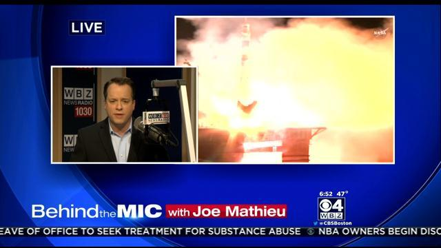 Behind The Mic With Joe Mathieu: Will Russia Cut U.S. Ride To Space?