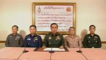 Thai army chief announces government takeover
