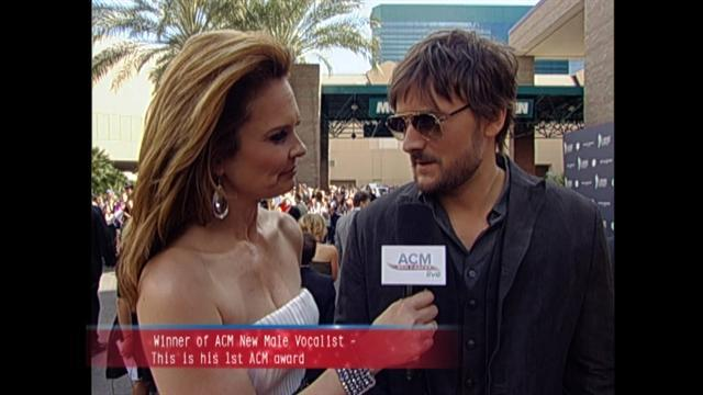 ACM Awards 2011- Eric Church Red Carpet Interview