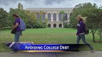 Tips to avoid a mountain of college debt