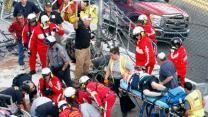 33 Injured When Car Sails Into Fence at Daytona