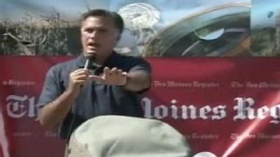 Romney Gets In Shouting Match At State Fair