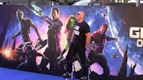 Vin Diesel Brings His Stilts to London For The Guardians Of The Galaxy Premiere