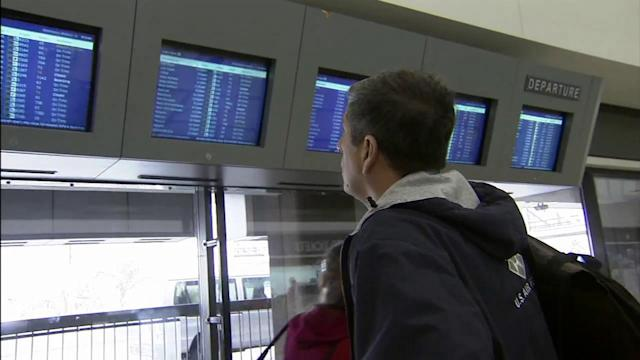 JFK, Newark airports reopen with limited service
