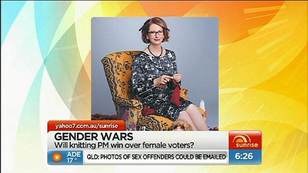 Gillard last-stitch effort with female voters