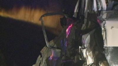 Driver Killed In Truck Rollover