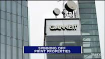 Gannett to spin off print operations