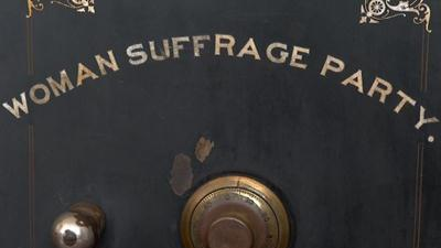 Old Safe Linked to Susan B. Anthony Is Opened