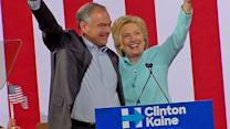 Hillary Clinton Officially Introduces Tim Kaine During Campaign Rally